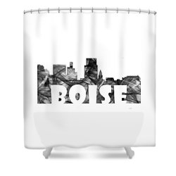 Boise Idaho Skyline Shower Curtain