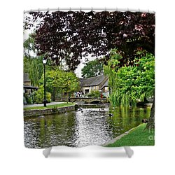 Bourton-on-the-water Shower Curtain