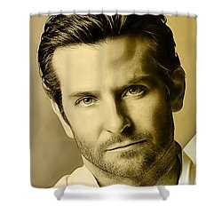 Bradley Cooper Collection Shower Curtain by Marvin Blaine