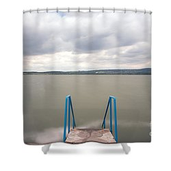 Calm Shower Curtain