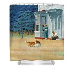 Cape Cod Evening Shower Curtain
