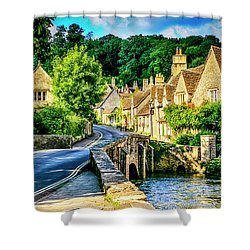 Castle Combe Village, Uk Shower Curtain