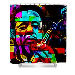 Charles Mingus Collection Shower Curtain by Marvin Blaine