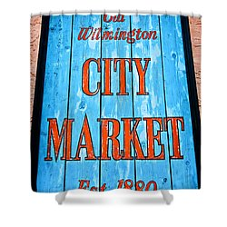 City Market Shower Curtain by Denis Lemay