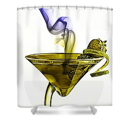 Cocktails Collection Shower Curtain by Marvin Blaine