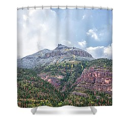 Colorado Fall Foliage 3 Shower Curtain