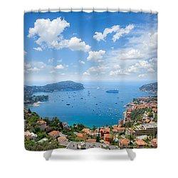 cote dAzur, France Shower Curtain