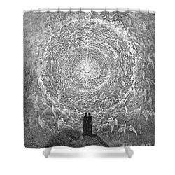 Dante: Paradise Shower Curtain