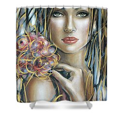 Drama Queen 301109 Shower Curtain by Selena Boron