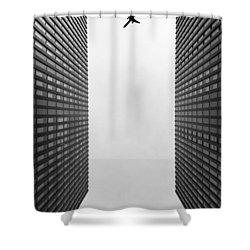 Enjoyable Flight Shower Curtain