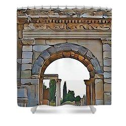 Ephesus Shower Curtain
