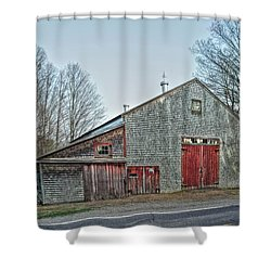 Faithful Old Barn Shower Curtain