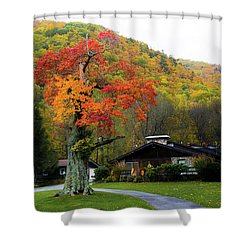 Fall Landscape Shower Curtain