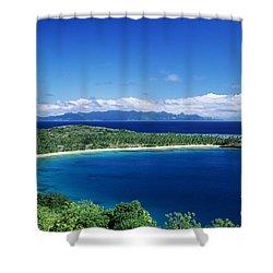 Fiji Wakaya Island Shower Curtain by Larry Dale Gordon - Printscapes