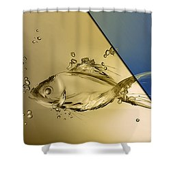 Fish Collection Shower Curtain