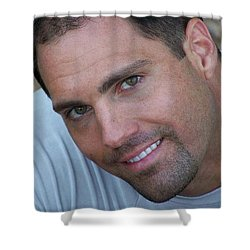 Shower Curtain featuring the photograph Franco Corelli by Jake Hartz
