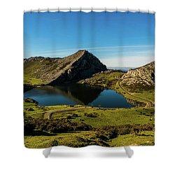 Glacier Formed Shower Curtain