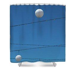 3 Globes Shower Curtain