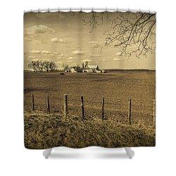 Honest Day's Work Shower Curtain