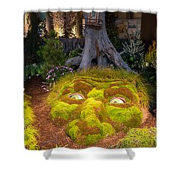 Imaginative Landscape Design Shower Curtain