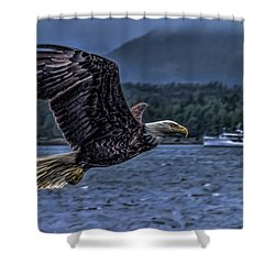 In Flight. Shower Curtain by Timothy Latta