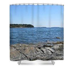 In Stensund Shower Curtain