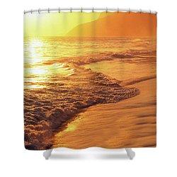 Ipanema Beach Rio De Janeiro Brazil Shower Curtain