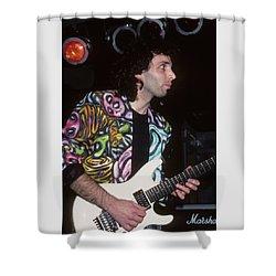 Joe Satriani Shower Curtain