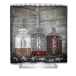 3 Jugs Shower Curtain
