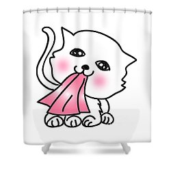 Jummy And Bobby Shower Curtain