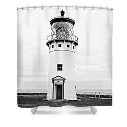 Kilauea Lighthouse Shower Curtain by Scott Pellegrin