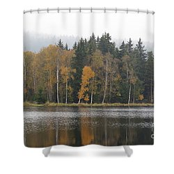 Shower Curtain featuring the photograph Kladska Peats by Michal Boubin