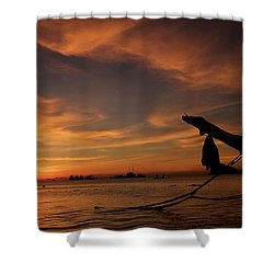 Koh Tao Island In Thailand Shower Curtain by Tamara Sushko