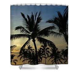 Kona Sunset Shower Curtain by Kelly Wade