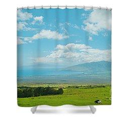 Kula Maui Hawaii Shower Curtain by Sharon Mau