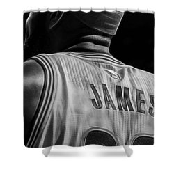 Lebron James Collection Shower Curtain