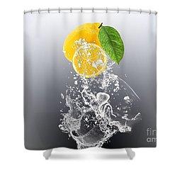 Lemon Splast Shower Curtain