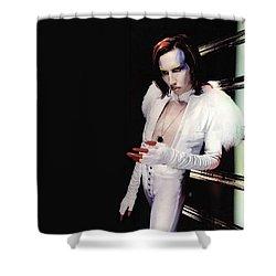 Marilyn Manson Shower Curtain