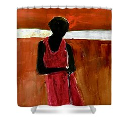 Masaai Boy Shower Curtain