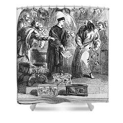 Merchant Of Venice Shower Curtain by Granger