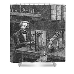 Michael Faraday (1791-1867) Shower Curtain by Granger