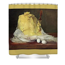 Mound Of Butter Shower Curtain