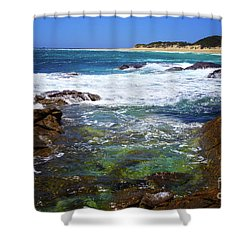 Mouth Of Margaret River Beach II Shower Curtain