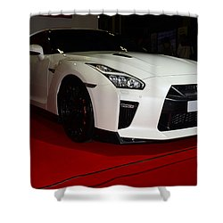 Nissan Gtr Shower Curtain