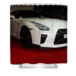 Nissan Gtr Shower Curtain