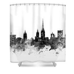 Norwich England Skyline Shower Curtain