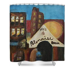Shower Curtain featuring the painting Nye's Polonaise Room by Susan Stone