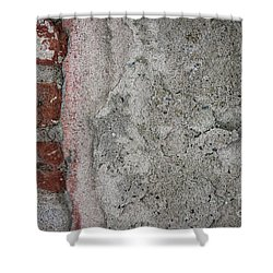Shower Curtain featuring the photograph Old Wall Fragment by Elena Elisseeva