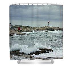 Peggy's Cove, Nova Scotia, Canada Shower Curtain
