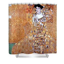 Portrait Of Adele Bloch-bauer I Shower Curtain